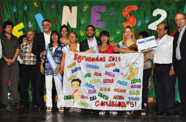 En Berazategui se entregaron más de 2 mil certificados y diplomas del Plan FinEs.
