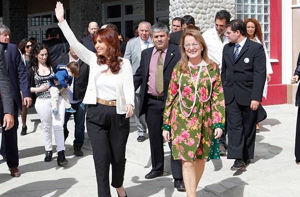 De la actividad participaron también los ministros de Planificación Federal y de Turismo.