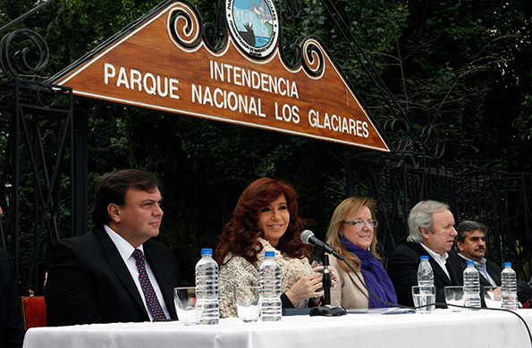 La ministra participó de esta actividad junto a la Presidenta Cristina Fernández de Kirchner.