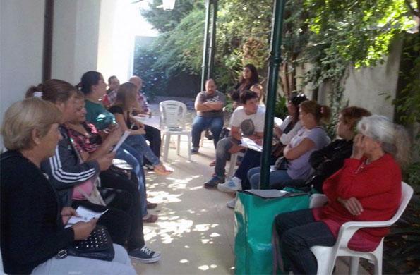 Pensionados de diferentes localidades bonaerenses y Bariloche planearon encuentros futuros. PrevNext