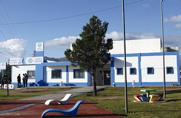 El flamante CIC ubicado en el barrio de Cerro de la Cruz.