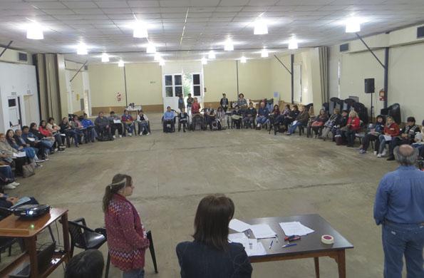 Más de 50 personas se sumaron a la iniciativa en Santa Fe.