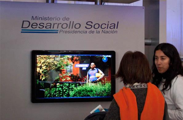 Desarrollooscial.tv es el sitio multimedia del Ministerio.