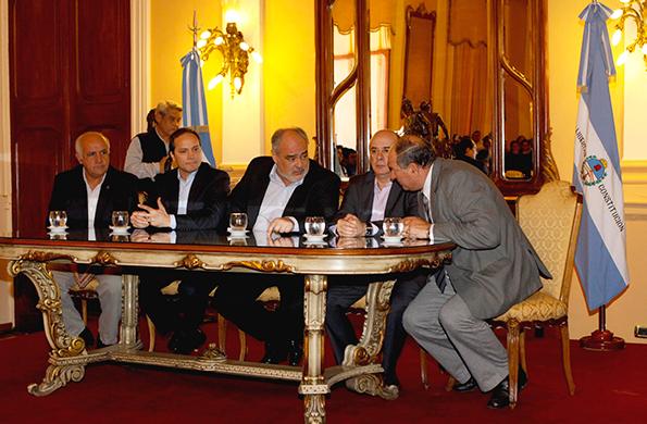 Por la mañana se firmó un convenio entre el ENARD y el gobierno de Corrientes.