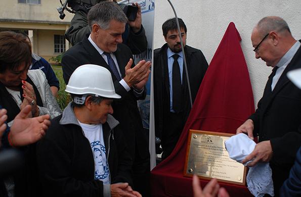 De la acto participó el secretario de Coordinación y Monitoreo Institucional, Carlos Castagneto.