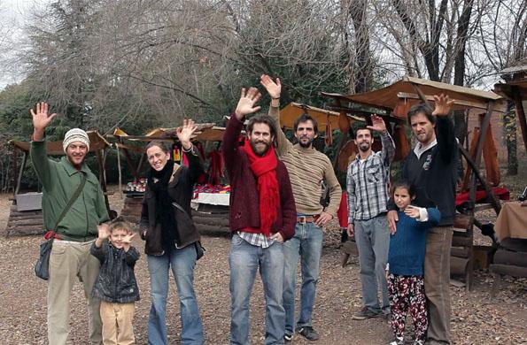 Artesanos emprendedores que se agruparon bajo la marca colectiva Feria de las Culturas.