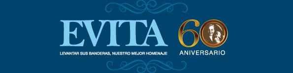 Banner Evita 60° Aniversario
