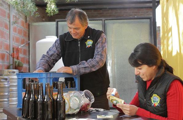 La Reserva comercializa sus productos en forma directa al público en ferias.