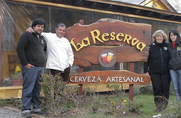 La Reserva, es un emprendimiento familiar dedicado a la elaboración de cerveza artesanal.