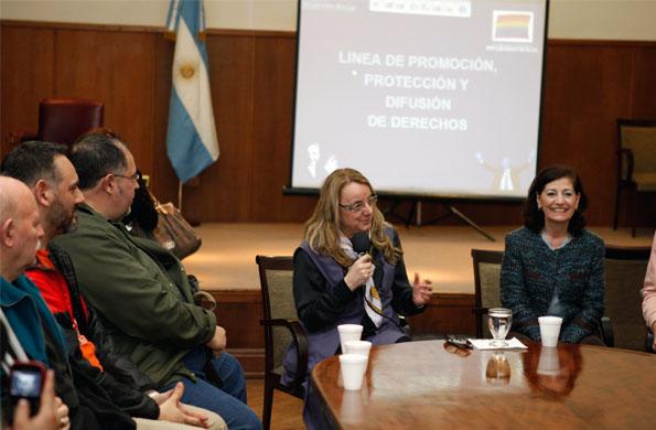 El nuevo espacio se creó por voluntad política de Alicia Kirchner.