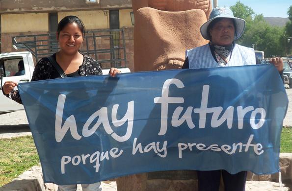 Trabaja en el Mercado de Humahuaca y participa del Centro de Pensionados.