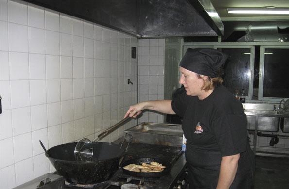 Desde la gastronomía, Susana logra una mejor calidad de vida para ella y su familia.