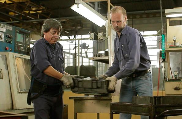 La cooperativa se especializa en la fabricación de productos mecanizados de precisión