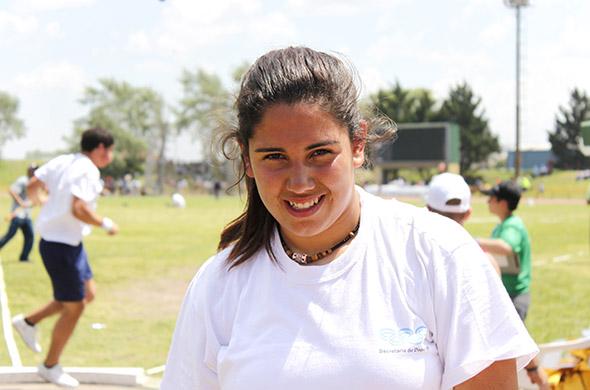 Ailén tiene 13 años y vive en Maipú provincia de Buenos Aires.