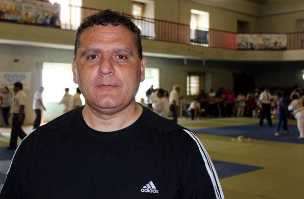 Aníbal Janeiro es el director técnico de la selección nacional de judo en categorías sub 13 y sub 15