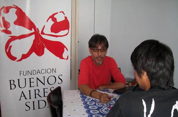 Desarrollo Social y la Fundación Buenos Aires SIDA realizan acciones articuladas en territorio.