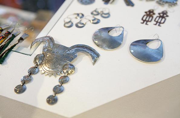 Aymara Marka expuso sus productos en eventos nacionales como el Buenos Aires Alta Moda.