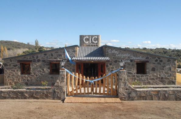 Centro Integrador Comunitario en la localidad de Tala Cañada, provincia de Córdoba.