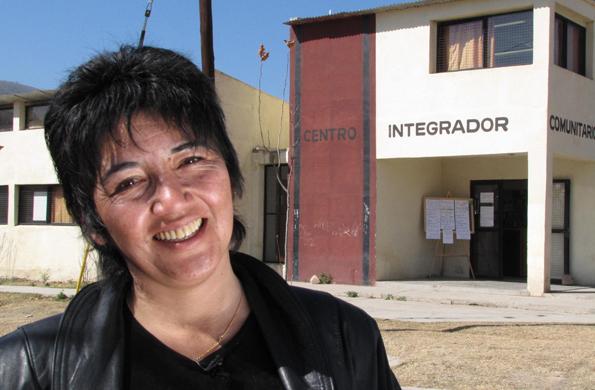 Centro Integrador Comunitario en la provincia de Salta.