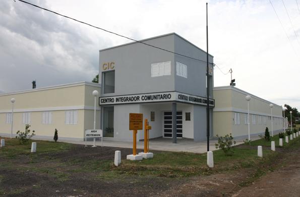 Centro Integrador Comunitario en la localidad de Gualeguaychú, provincia de Entre Ríos.