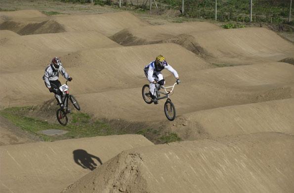 Se inauguró una nueva pista de BMX en la localidad bonaerense de Ezeiza.