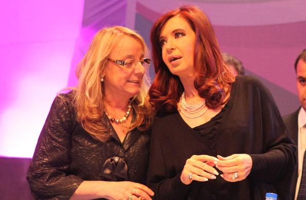 Alicia Kirchner destacó la política educativa del Gobierno.
