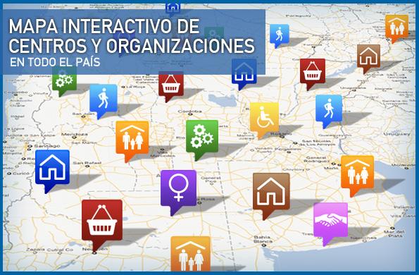 El mapa interactivo sigue creciendo e incorporando herramientas de acceso y colaboración ciudadana.