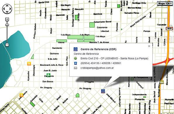 Más de 221 mil calles, rutas y autopistas referenciadas favorecen a una mejor localización.