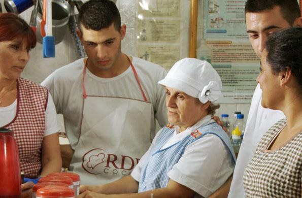 Red de Barrios Cocina fue fundado en 2005.