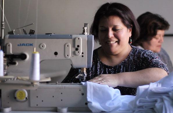 Con el apoyo de la cartera social, Hecho en Moreno fue consolidando su producción.
