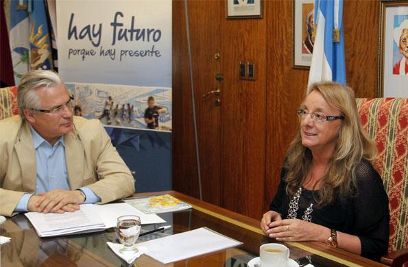 En la reunión se analizó la situación internacional y las políticas de Estado.