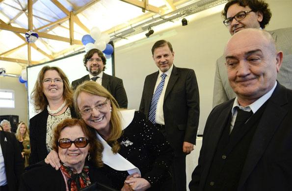 Alicia Kirchner encabezó el lanzamiento de la 4º Campaña de Buentrato a las personas mayores.