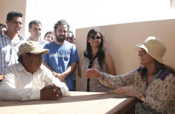 """""""Juntos es la manera de transformar la realidad"""", afirmó Alicia Kirchner."""