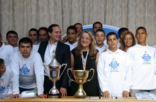 La copa del mundo de Programas Sociales se disputó en Uruguay.