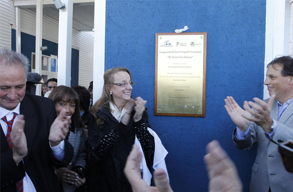 """El nuevo CIC se llama """"Néstor Carlos Kirchner"""" y está ubicado en el barrio Félix Bogado."""
