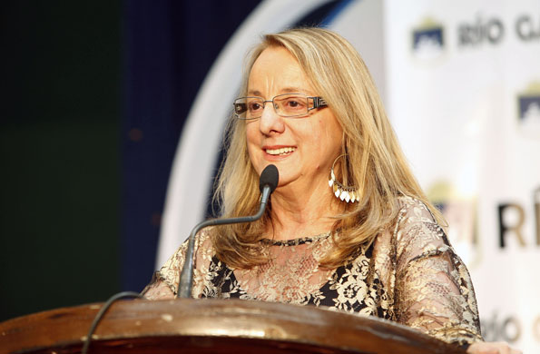 Alicia Kirchner fue reconocida por su trabajo a favor de la inclusión social.