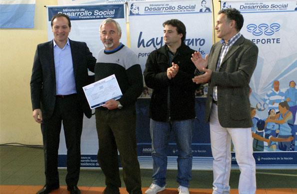 Se realizó una capacitación técnica brindada por profesionales de la Secretaría de Deporte de la Nación