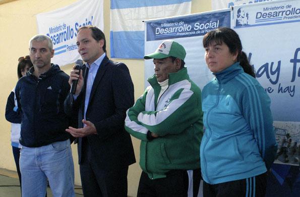 De la jornada participó el secretario de Deporte, Carlos Espínola.