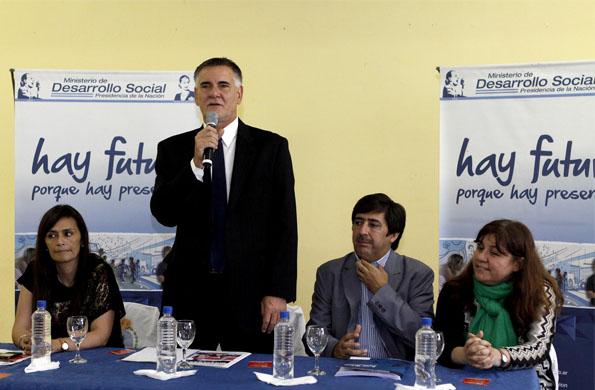 Participó del acto, el secretario de Coordinación y Monitoreo Institucional, Carlos Catagneto.