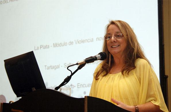 """""""No hay salud sin desarrollo social"""", afirmó Alicia Kirchner."""