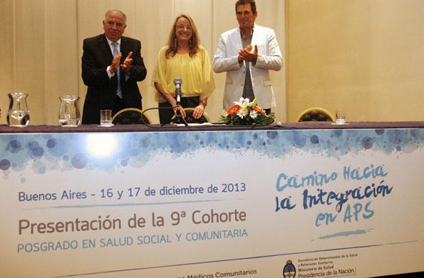 De la actividad también participó el ministro de Salud, Eduardo Bustos Villar.