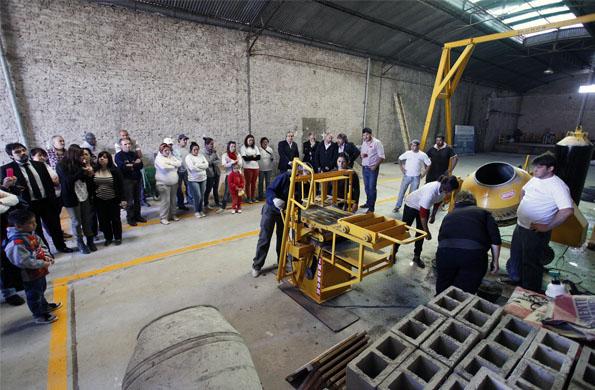 En el Polo Productivo trabajan más de 120 cooperativistas.