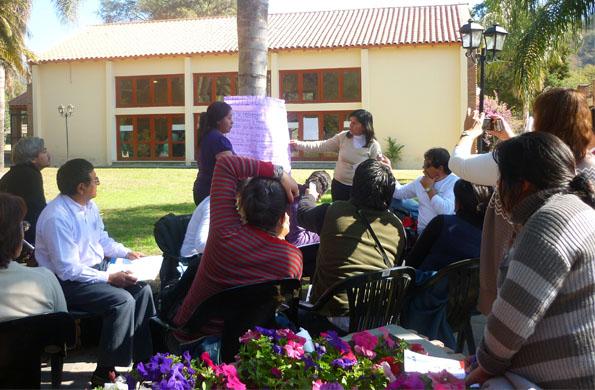 """Encuentro del programa """"Creciendo Juntos"""" que lleva adelante el Ministerio de Desarrollo Social."""