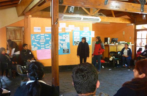 Los asistentes participaron de talleres temáticos en los que compartieron experiencias.