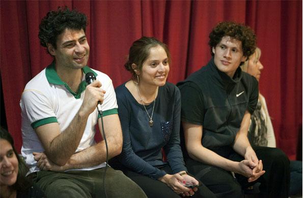 Iñaki Urlezaga dió una clínica gratuita en el Centro de Arte Crisoles de la ciudad de La Plata.