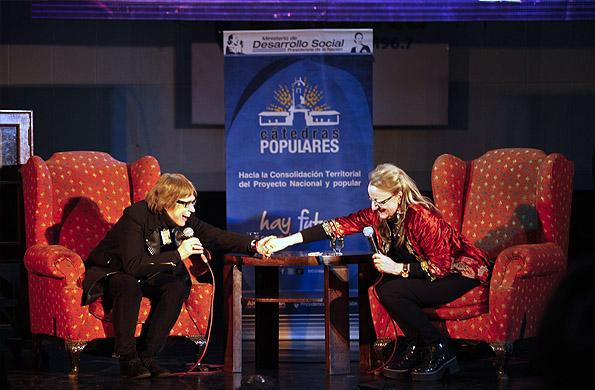 El evento tuvo lugar en el auditorio Hugo del Carril de Radio Nacional.