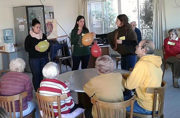 La actividad permitió fortalecer la identidad individual y colectiva de las personas mayores.