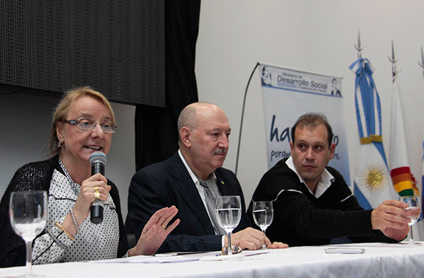 Alicia Kirchner se refirió a la importancia del cooperativismo.