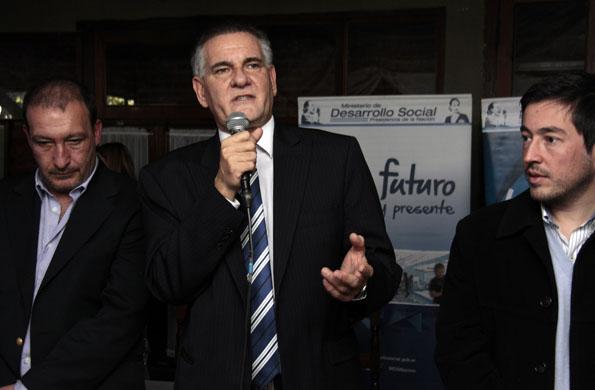 El secretario de Coordinación y Monitoreo Institucional, Carlos Castagneto.