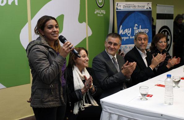 Durante la teleconferencia, Alicia Kirchner destacó la continuidad del proyecto.